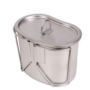 Stainless Steel Canteen Cups & Cover Set - View