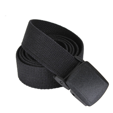 Military Plastic Buckle Web Belts - View