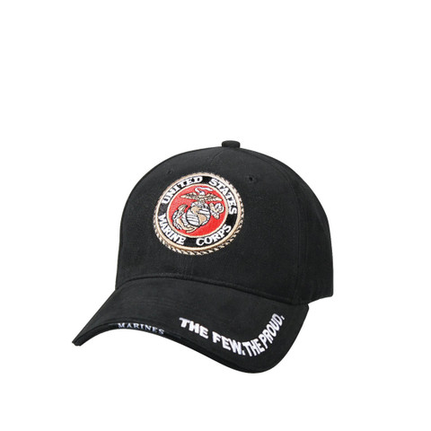 Deluxe USMC Globe & Anchor Cap - View