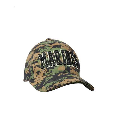 Deluxe Marines MARPAT Digital Camo Cap-View