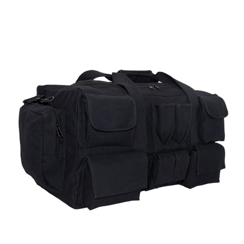 Multi-Pocketed Tactical Gear Bag - Side View