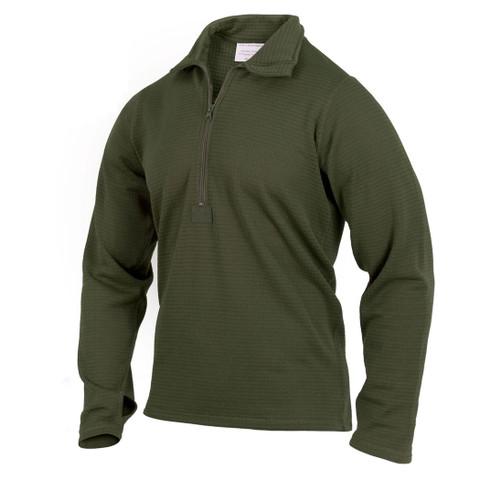 Olive Green E.C.W.C.S. Gen III Level II Underwear Tops - View