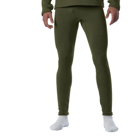 Olive Drab E.C.W.C.S. Gen III Mid-Weight Bottoms - View