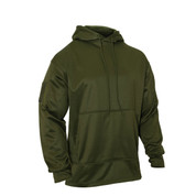 Olive Drab Concealed Carry Hoodie Pullover - Front View