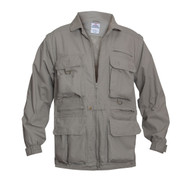 Convertible Safari Jacket / Vest Combo - Jacket View