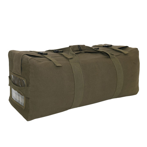 GI Type Canvas Backpack Duffle Gear Bag - View
