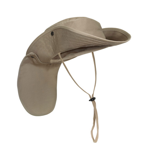 Outback Adjustable Boonie Sun Hat - Brim Up View
