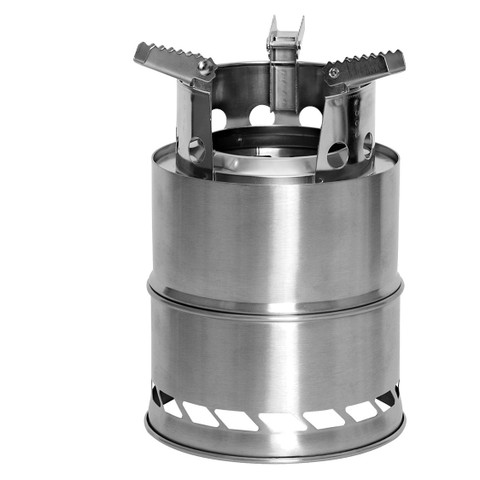 Stainless Steel Survival Camping Stove - View