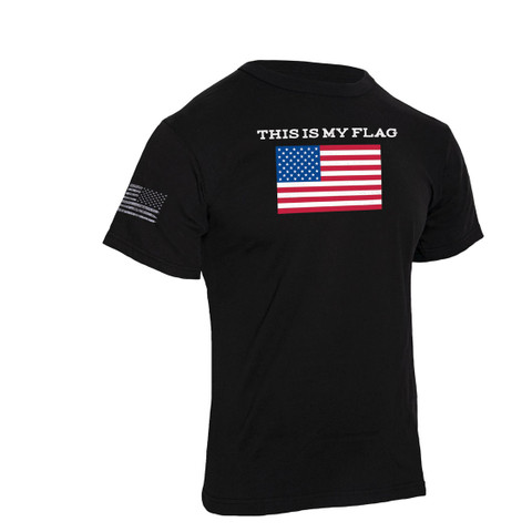 """This Is My Flag"" T Shirt - Right Side View"