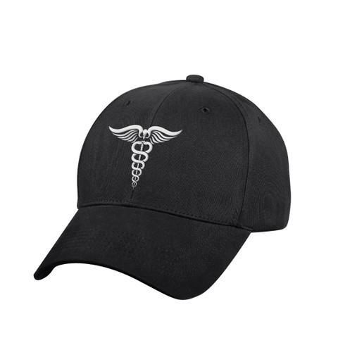 Medical White Symbol Low Profile Cap - View