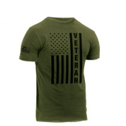 Veteran U.S.Flag T Shirt - Side View