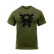 Molon Labe Skull Shirt - View