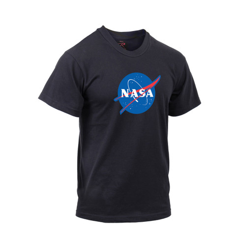 Authentic NASA Logo T Shirt - Side View