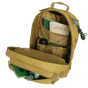 Fast Mover Tactical Backpack Bag - Coyote Brown Open View