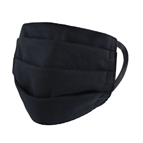 Black Surgical Style Face Mask - View