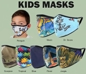Kids Protective N95 Face Mask - Full View