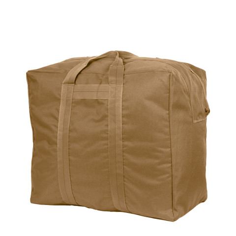 Enhanced Nylon Coyote Brown Aviators Kit Bag - View
