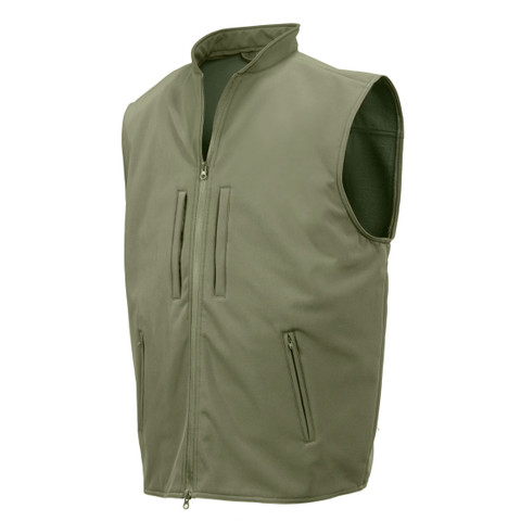 Concealed Carry Soft Shell Vest - View