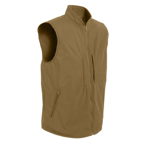Concealed Carry Soft Shell Vest - Side View