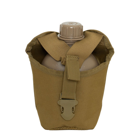 Molle Compatible 1 Qt. Canteen Cover - Front View