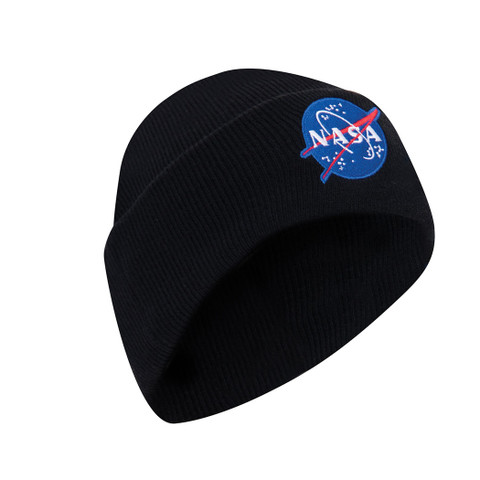Deluxe NASA Logo Embroidered Watch Cap - View