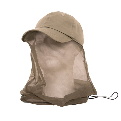 Operator's Cap w/Mosquito Net - Front View