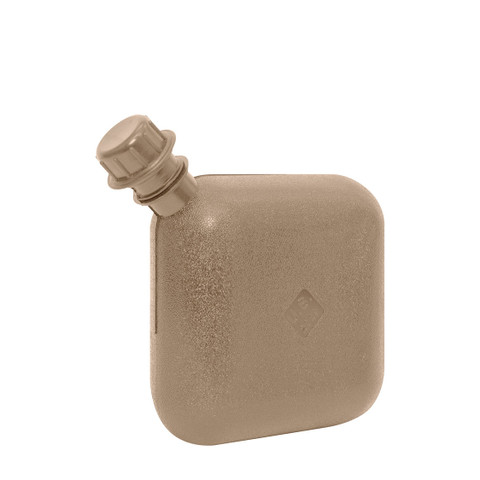 G.I. Coyote Brown 2 Quart Bladder Canteen - Side View