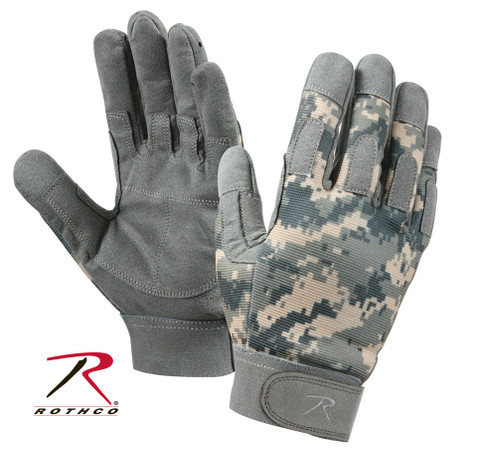 ACU Digital Lightweight All Purpose Duty Glove - Full View
