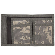 ACU Digital Camo Velcro Military Wallet - View