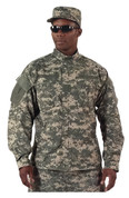 ACU Digital Camo Uniform Shirt - Model View