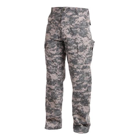ACU Digital Camo Uniform Pants - Side View