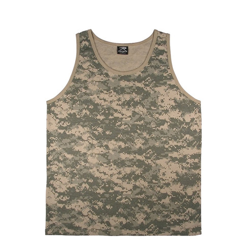 ACU Digital Camouflage Tank Top - View
