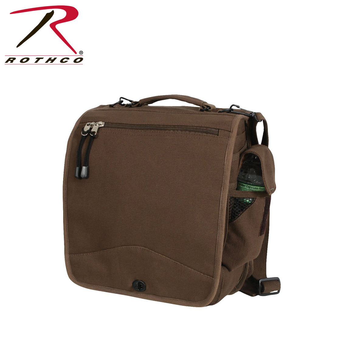 b20fed02ae Shop Brown Canvas M-51 Field Engineers Bags - Fatigues Army Navy Gear Bags