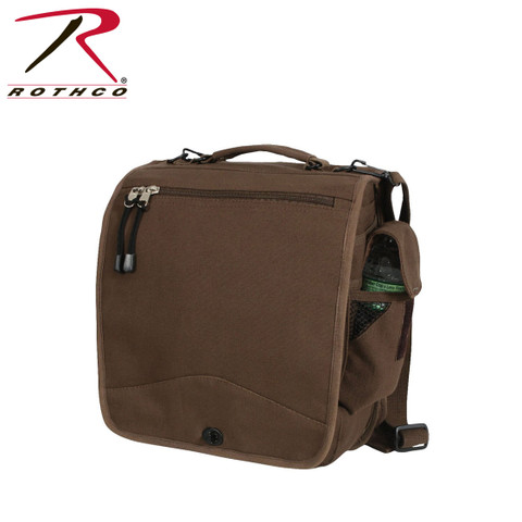 Brown Canvas M-51 Field Engineers Bag - Rothco View