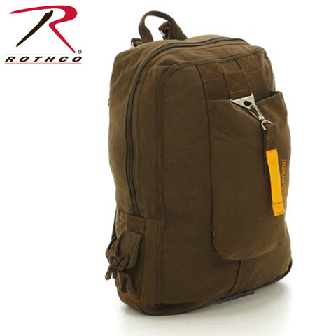 Vintage Canvas Flight Daypack Bag - Rothco View