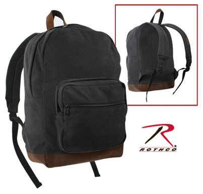 Vintage Canvas Sierra Daypack - Combo View