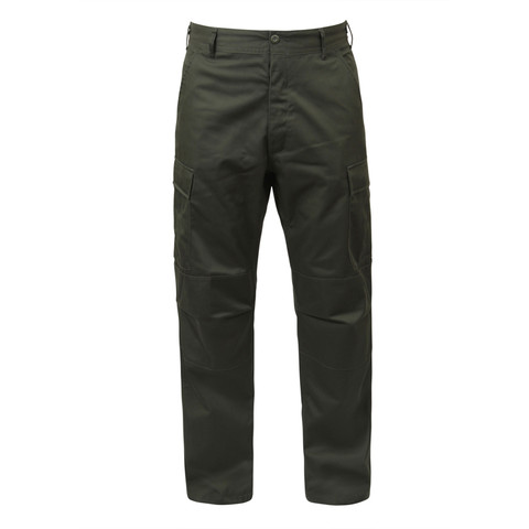 Rothco Olive Drab BDU Fatigue Pant - Front View