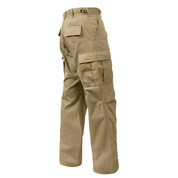 Rothco Khaki BDU Fatigue Pants - Right Side View