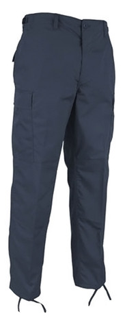 Rothco Navy Ripstop Cotton BDU Fatigue Pants - Full View