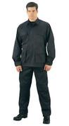 Rothco Black Ripstop Cotton BDU Fatigue Pants - Full View