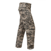 Army ACU Digital Camo BDU Fatigue Pants - Right Side View