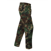Woodland Camo Ripstop Cotton BDU Pant - Right Side View