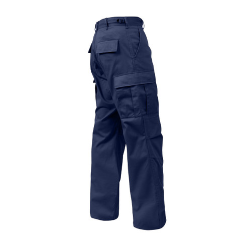 Midnight Blue BDU Fatigue Pants - View