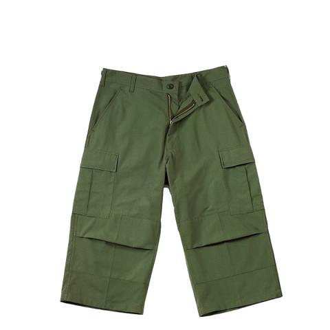 Rothco Olive Drab 6 Pocket BDU 3/4 Pants - View