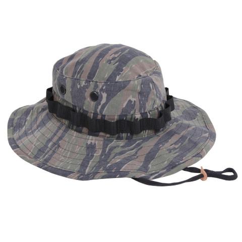 Vietnam Tiger Stripe Boonie Hat - Right Side View