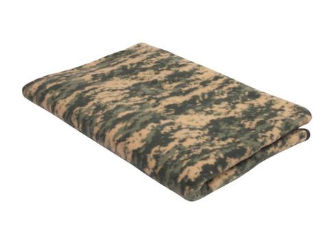 Army Digital Camo Fleece Blanket - View