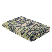 Woodland Digital Camo Fleece Blanket - View