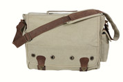 Khaki Vintage Trailblazer Laptop Bag - View