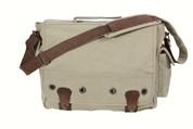 Khaki Vintage Trailblazer Laptop Bag - View