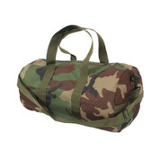 Woodland Camo Travelers Shoulder Bag - Right Side View